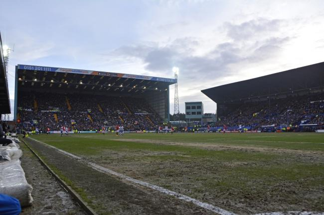 Prenton Park, the home of Tranmere Rovers Football Club. Photo: Tony Coombes